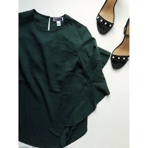Dark Green Top🎀